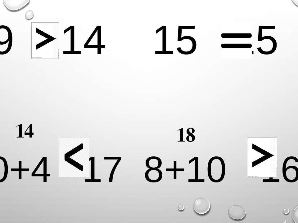 19 14 15 15 10+4 17 8+10 16 14 18