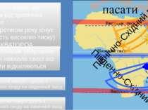 Низький тиск Високий тиск Високий тиск Північно-Східний пасат Південно-Східни...