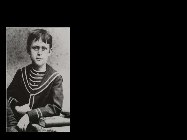 Дитинство Народився 1875 року в німецькому місті Любек. Томас був другою дити...