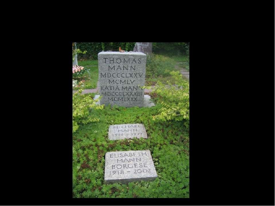 Письменник помер 12 серпня 1955 року в Цюріху від атеросклерозу.