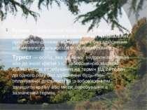 Тури зм— тимчасовий виїзд особи з місця постійного проживання в оздоровчих, ...