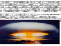 Ядерна зброя істотно відрізняється від інших видівозброєнняяк масштабами, т...