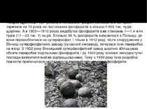 Промислове використання подільських фосфоритів розпочато 1870 року в приватно...