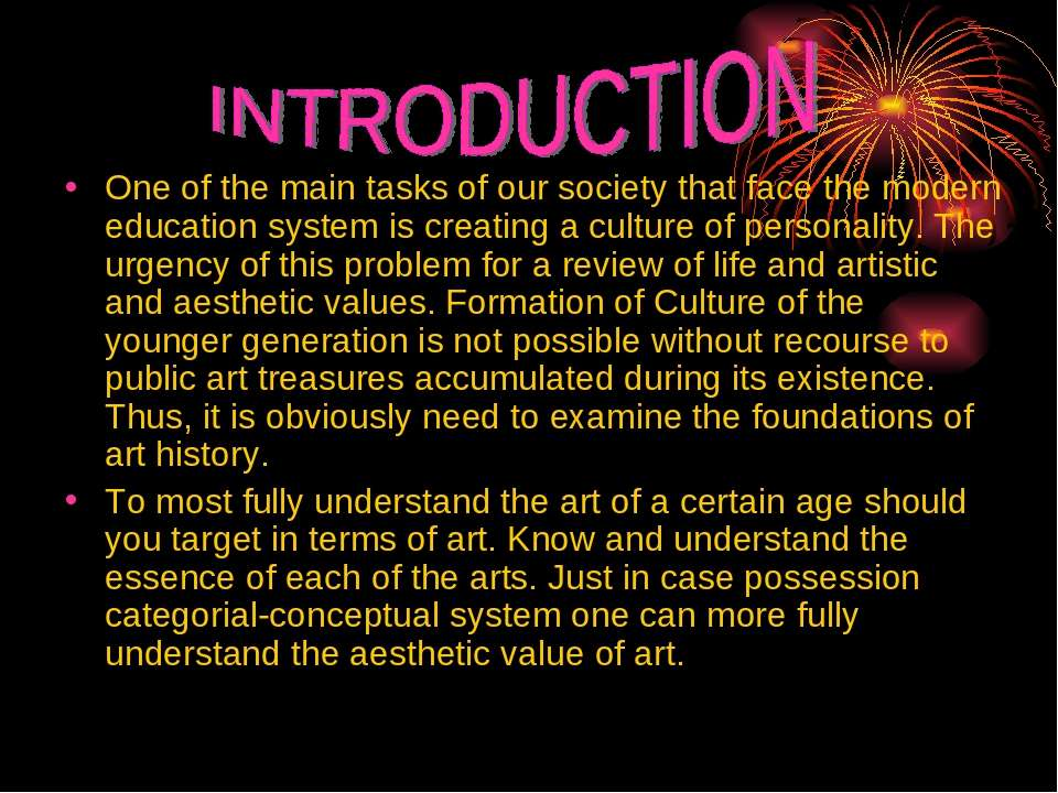 One of the main tasks of our society that face the modern education system is...