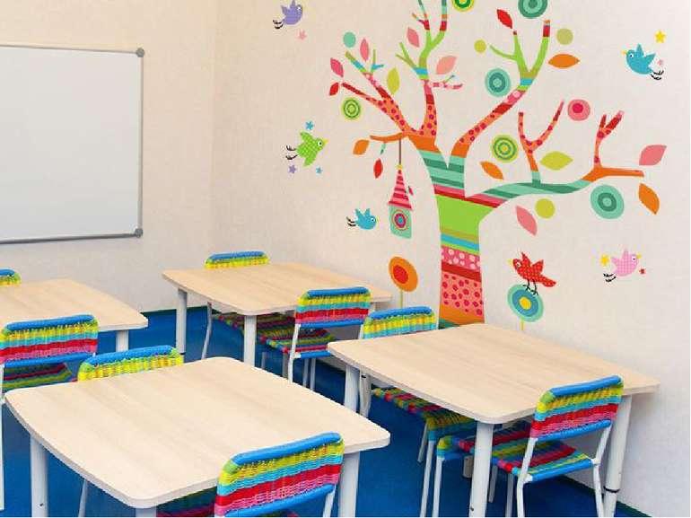 Ми можемо оформити класну кімнату так, як ми захочемо. НУШ дозволяє політ фан...