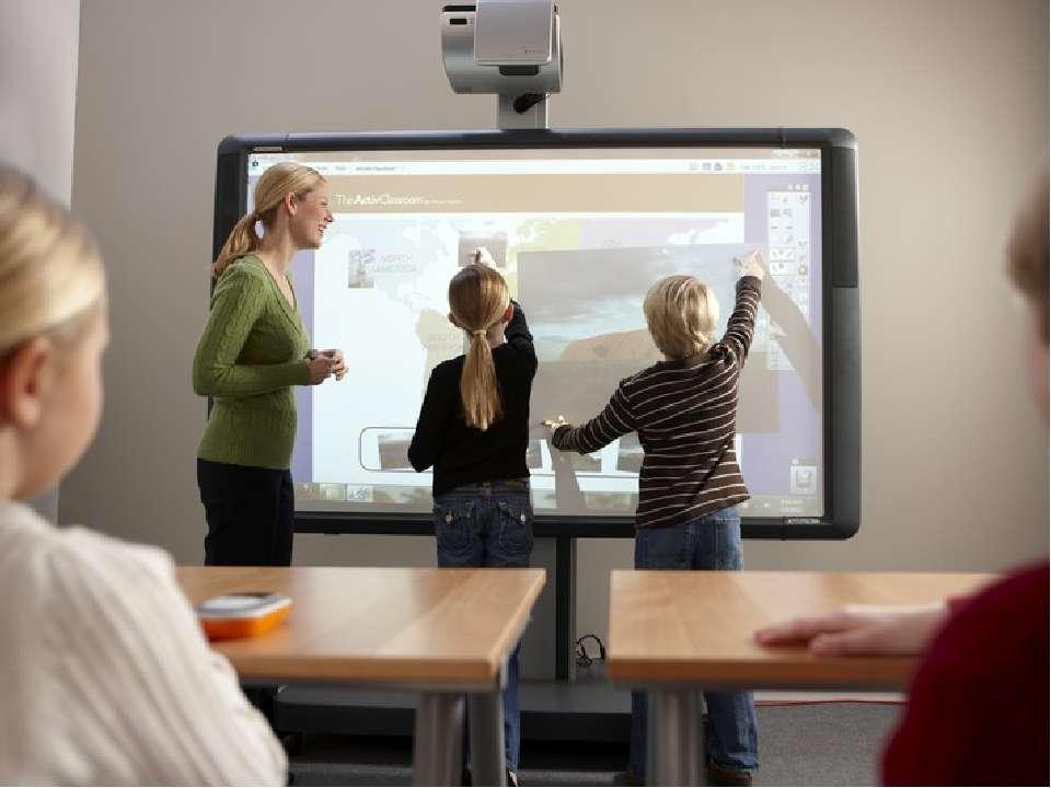 - мультимедійна дошка – діти мають змогу за допомогою дотику виконувати різно...
