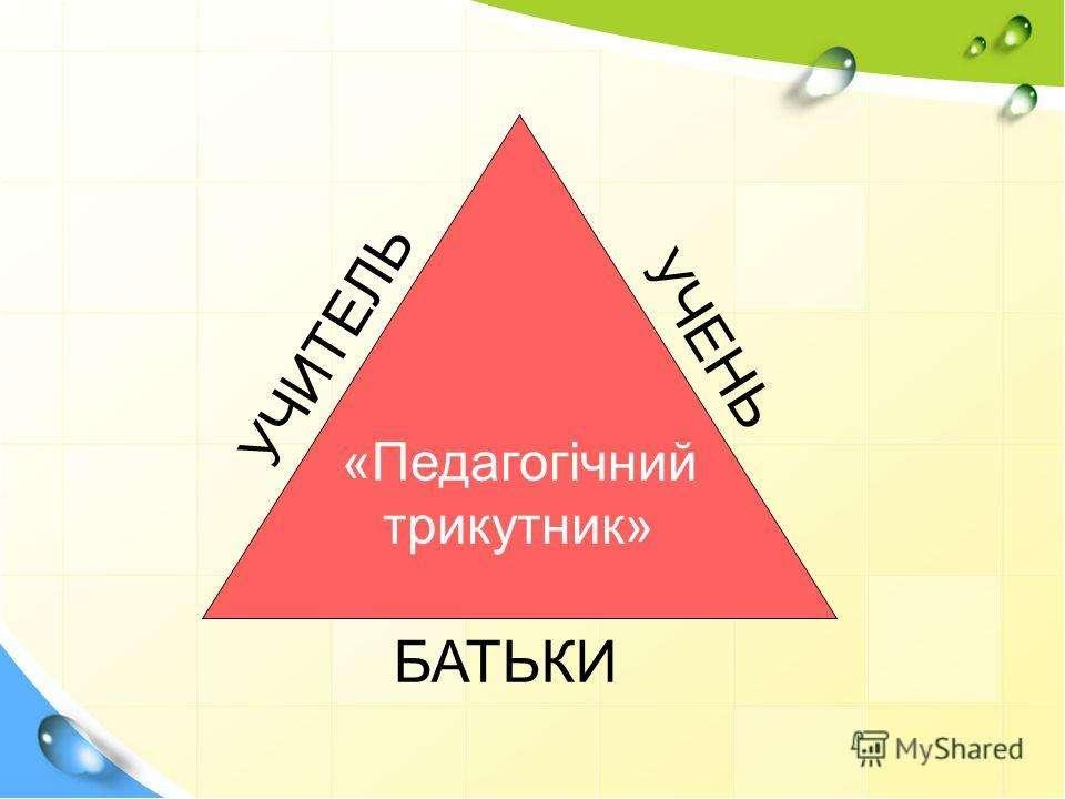 Але головною ознакою НУШ є тісна співпраця у так званому педагогічному трикут...