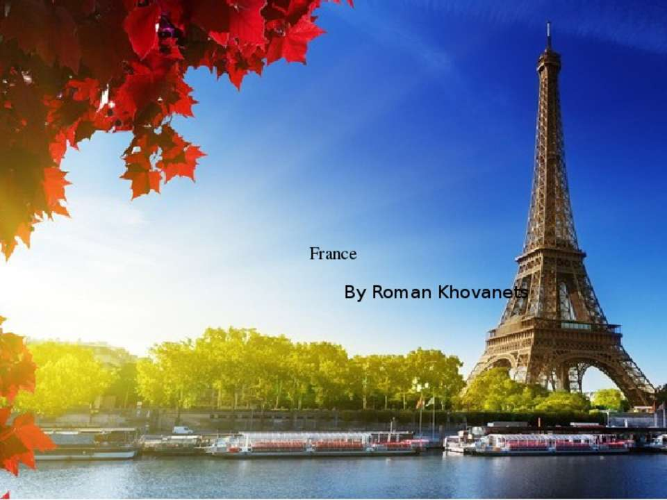 France By Roman Khovanets