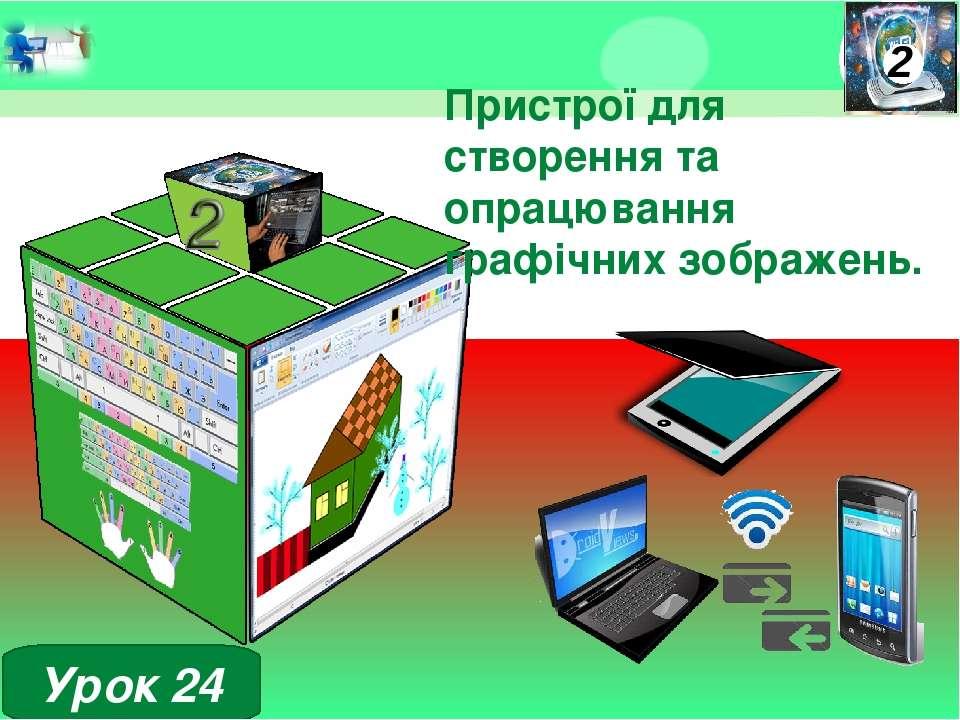 Пристрої для створення та опрацювання графічних зображень. Урок 24 Допомога п...