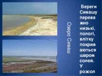 Сакське озеро невелике, але відоме своїми лікувальними грязями ще з давніх ча...