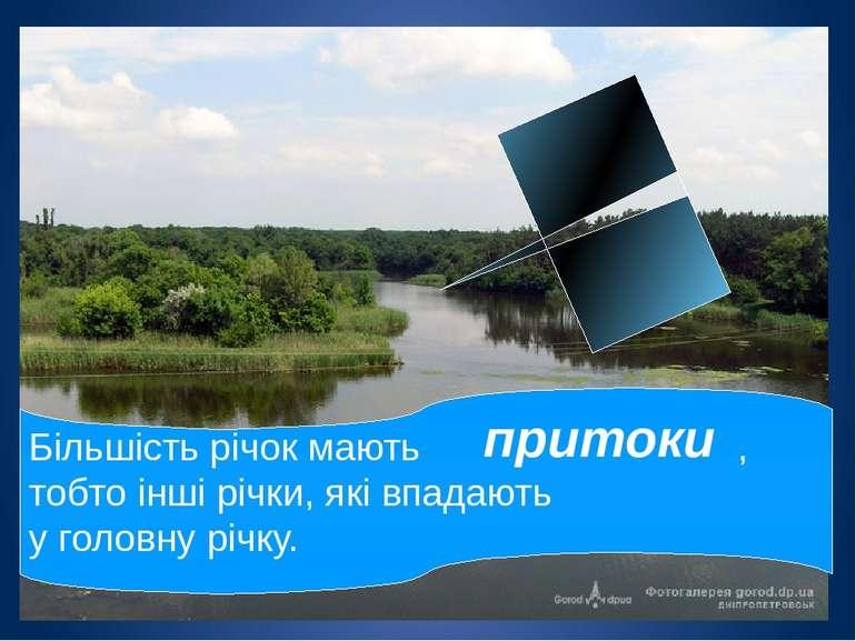 Річка має правий і лівий береги. правий берег лівий берег