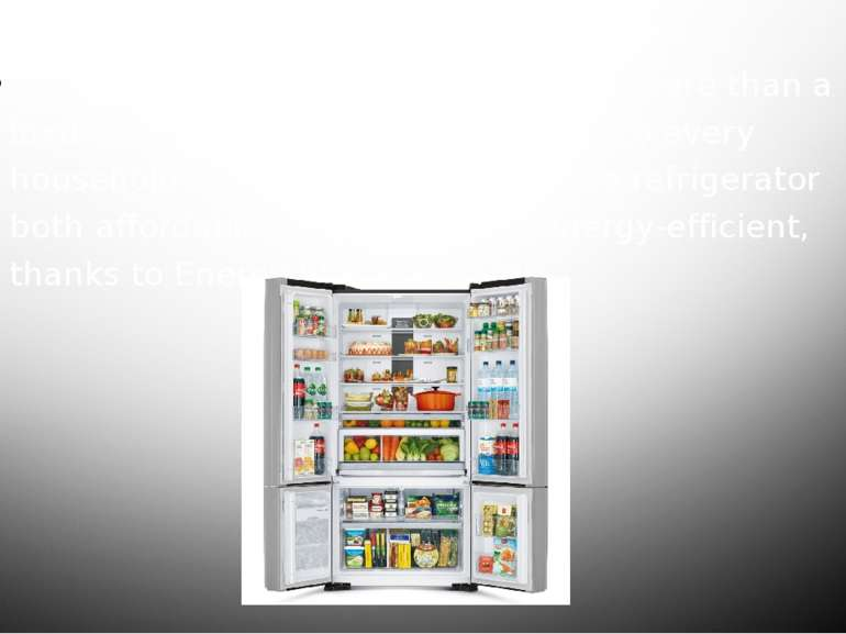 Today, refrigerators have grown from more than a luxury and into a common nec...