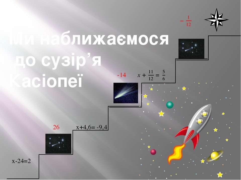 Ми наближаємося до сузір'я Касіопеї