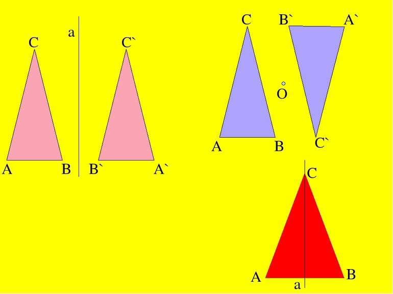 A C B a B` A` C` A C O B B` A` C` A C B a