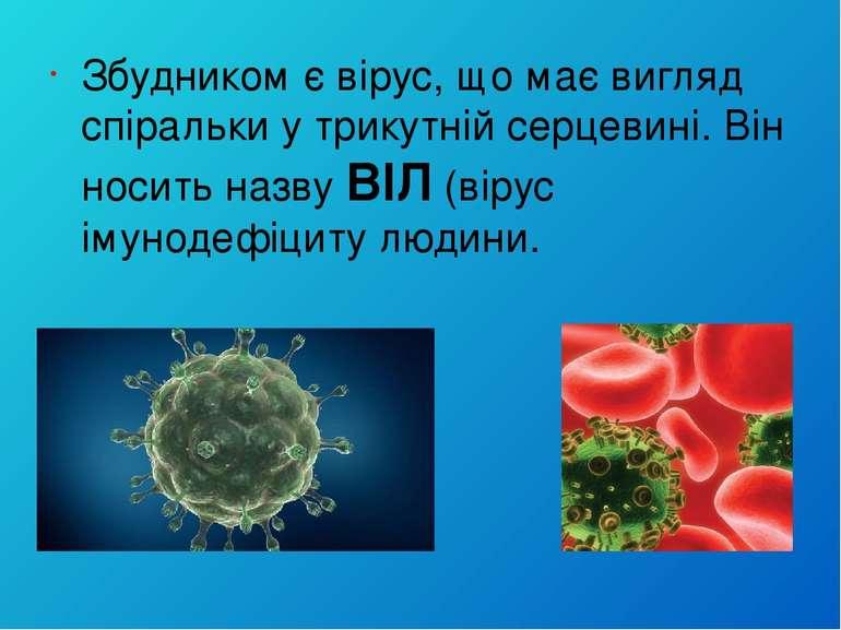 Збудником є вірус, що має вигляд спіральки у трикутній серцевині. Він носить ...