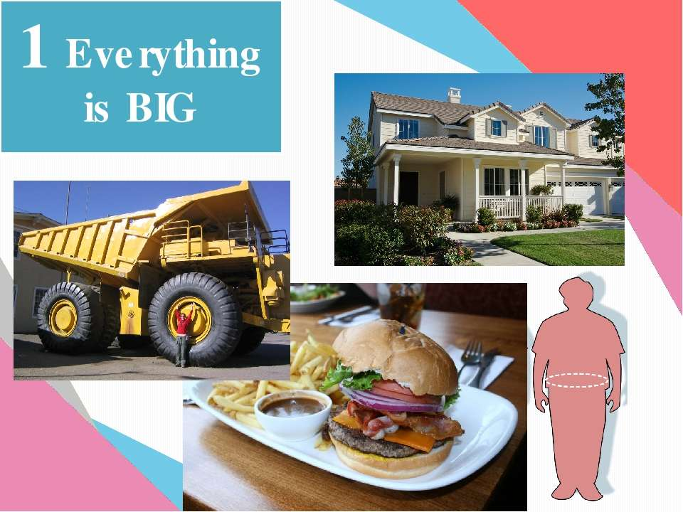 1 Everything is BIG
