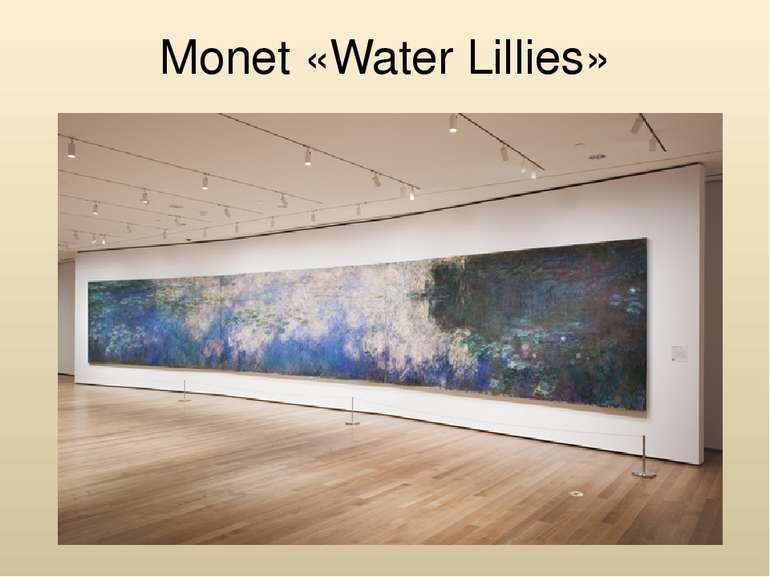 Monet «Water Lillies»
