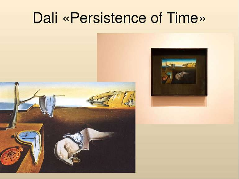 Dali «Persistence of Time»