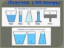Чи однаковий тиск рідини на дно посудин? Порівняйте вагу рідин і їх тиск на д...