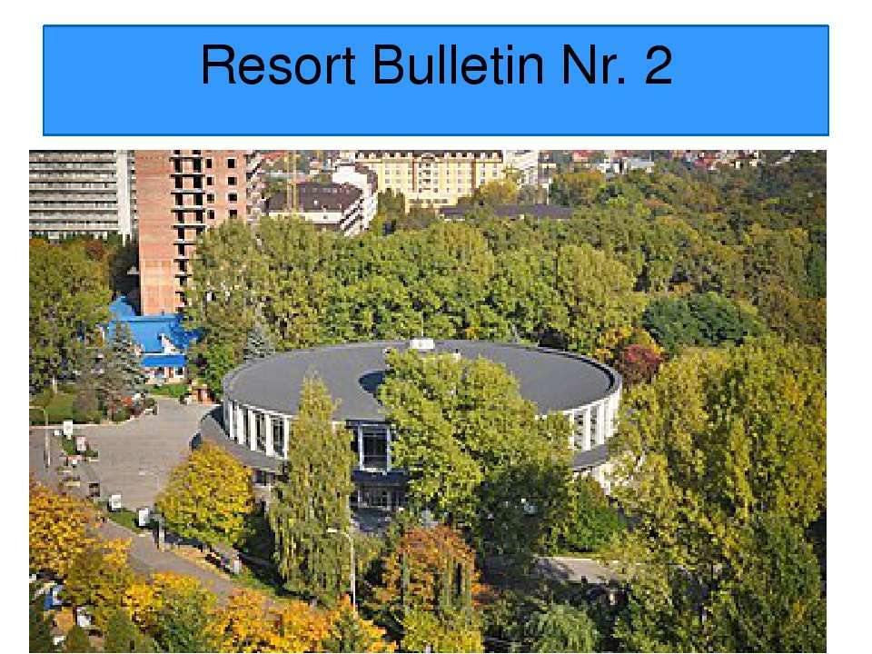 Resort Bulletin Nr. 2