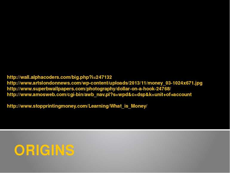 ORIGINS http://wall.alphacoders.com/big.php?i=247132 http://www.artslondonnew...