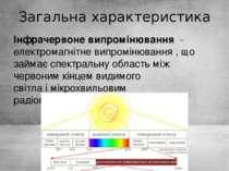 Загальна характеристика Інфрачервоне випромінювання-електромагнітне випромі...