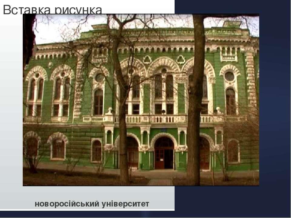 новоросійський університет