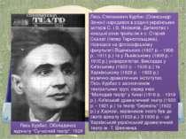 "Лесь Курбас. Обкладинка журналу ""Сучасний театр"". 1928 Лесь Степанович Курбас..."