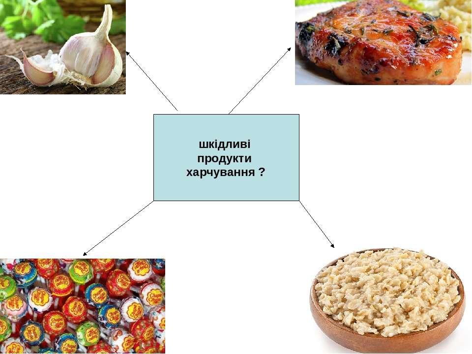 шкідливі продукти харчування ?