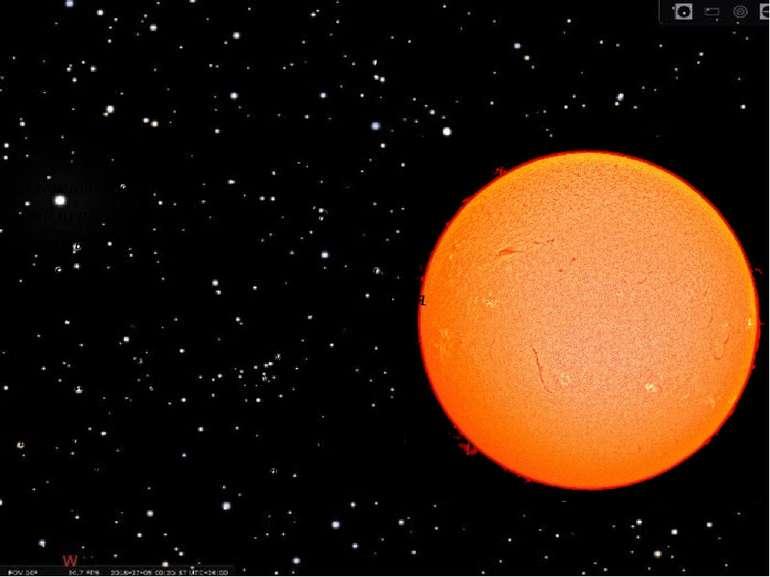 Сонце Головна роль у Сонячній системі належить Сонцю. Його маса приблизно в 7...