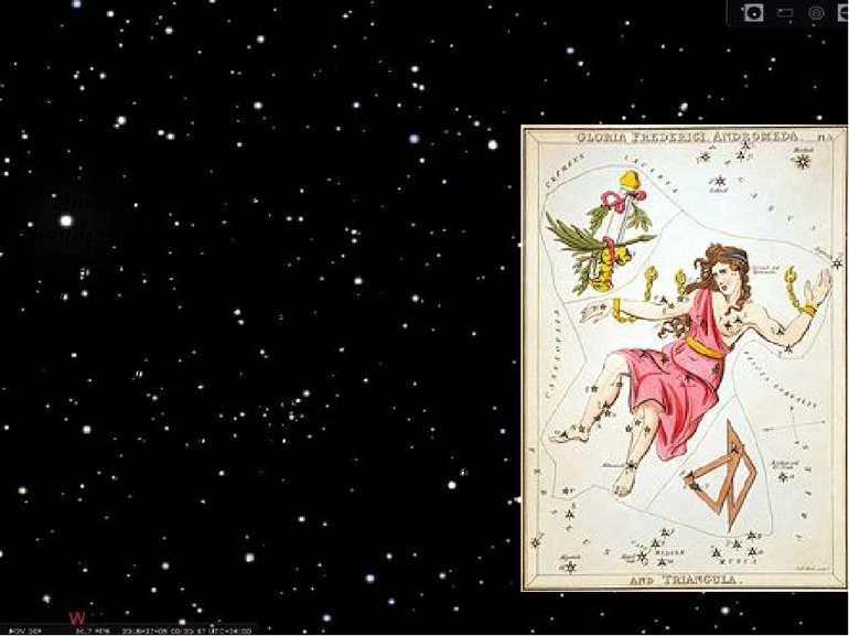 Сузір'я Андромеда Андромеда — сузір'я північної півкулі зоряного неба, назван...