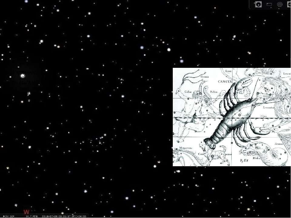 Легенда Поява на небі сузір'я знака зодіаку Рак так само пов'язують з другим ...