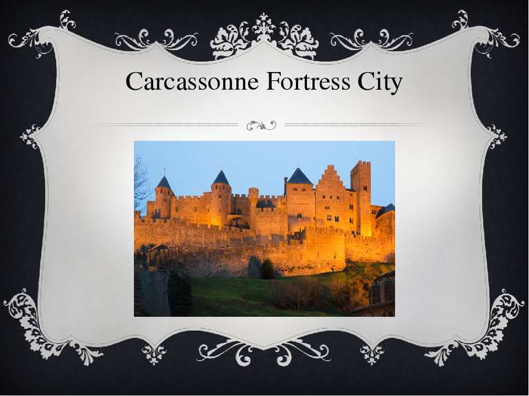 Carcassonne Fortress City