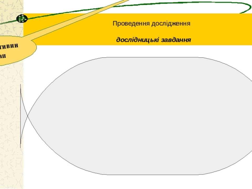 Проведення дослідження конструктивний етап дослідницькі завдання