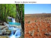 Флора та фауна материка