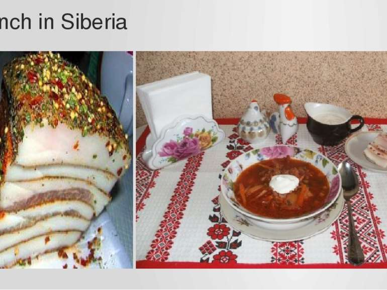 Lunch in Siberia