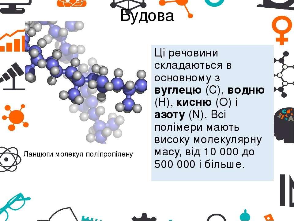 Будова Ці речовини складаються в основному з вуглецю (C), водню (H), кисню (O...