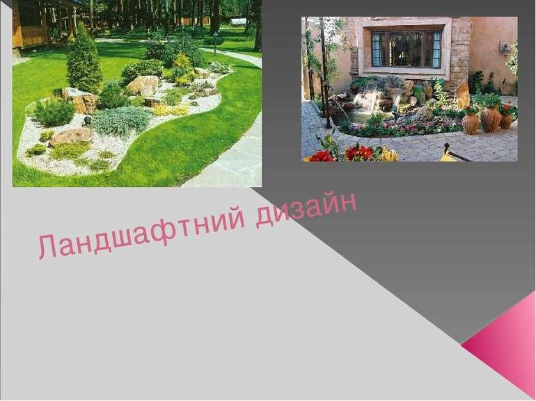Ландшафтний дизайн