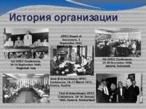 История организации