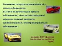 концерн ФІАТ (фабрика італійських автомобілів у Туріні)