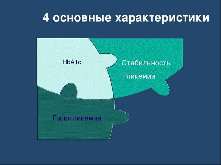 4 основные характеристики