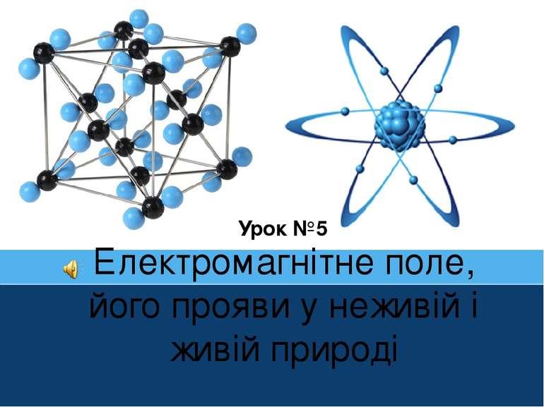 Електромагнітне поле, його прояви у неживій і живій природі Урок №5 ProPowerP...
