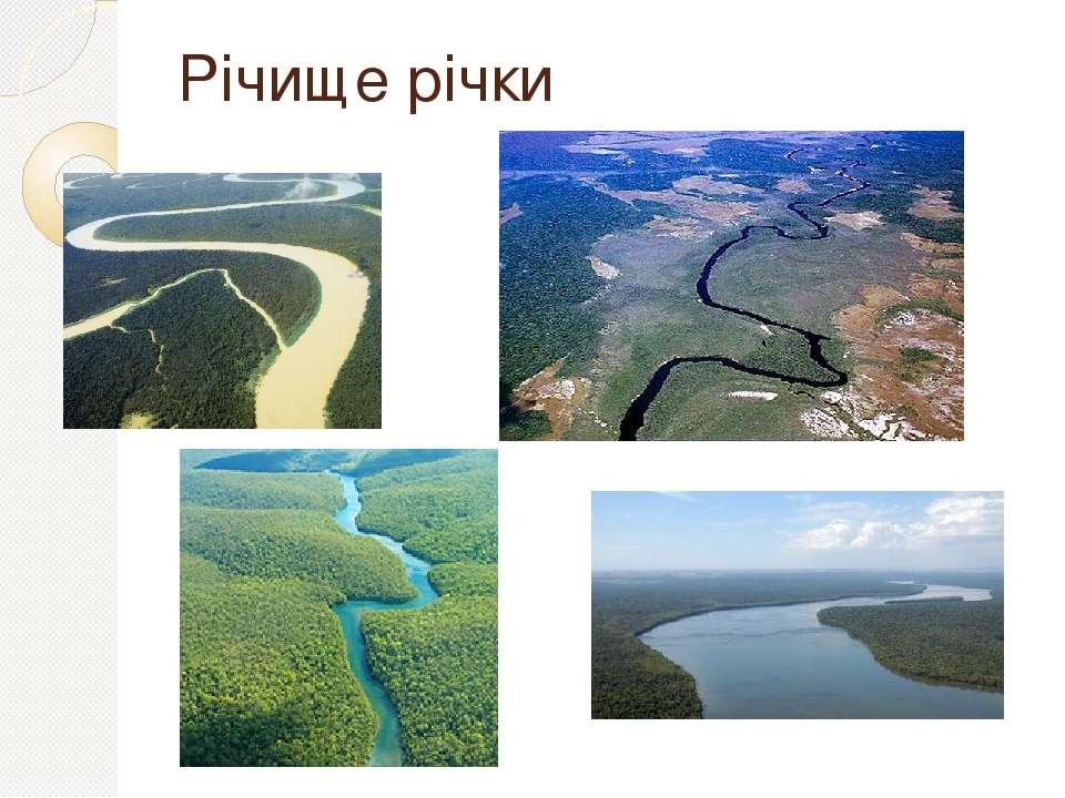 Річище річки
