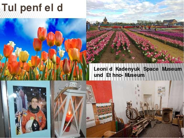 Tulpenfeld Leonid Kadenyuk Space Museum und Ethno-Museum.