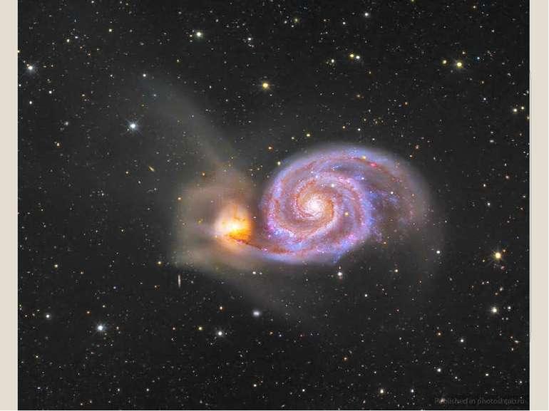 Галактики в сузір'ї Гончих Псів