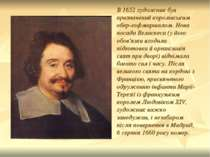 В 1652 художник був призначений королівським обер-гофмаршалом. Нова посада Ве...