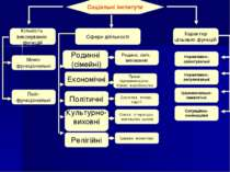 Соціальні інститути Кількість виконуваних функцій Сфери діяльності Характер ц...