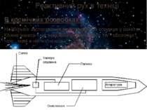 Реактивний рух в техніці В космічних розробках: Найбільше застосування реакти...