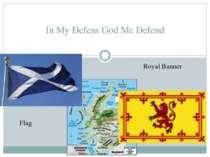 In My Defens God Me Defend Flag RoyalBanner