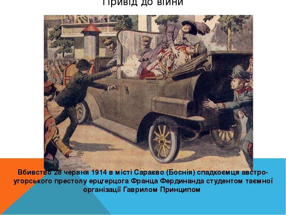 Вбивство Франца-Фердинанда в Сараєво Процес над Принципом в Сараєві